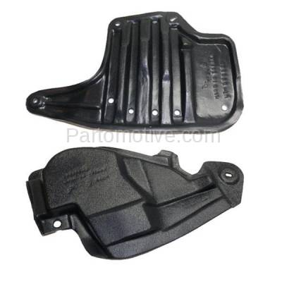 Aftermarket Replacement - ESS-1549L & ESS-1549R 12-15 IQ Rear Engine Splash Shield Under Cover Guard Left & Right Side SET PAIR