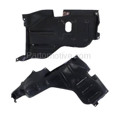 Aftermarket Replacement - ESS-1567L & ESS-1567R 95-02 Esteem Front Engine Splash Shield Under Cover Guard Left & Right SET PAIR