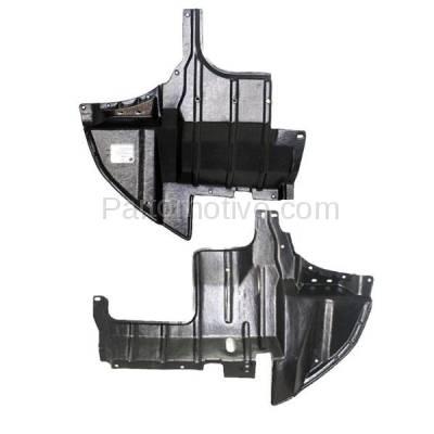 Aftermarket Replacement - ESS-1497L & ESS-1497R 03-06 Outlander Engine Splash Shield Under Cover Undercar Left & Right SET PAIR