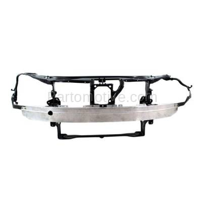 Aftermarket Replacement - RSP-1547 2007-2009 Mercedes-Benz S-Class (Base & 4Matic) (221 Chassis) Front Center Radiator Support Core Assembly Primed Steel with Aluminum