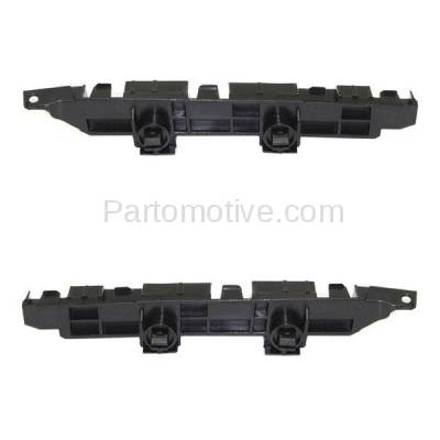 Aftermarket Replacement - BRT-1051FL & BRT-1051FR 06-07 Accord Front Bumper Cover Face Bar Spacer Retainer Mounting Brace Reinforcement Support Plastic SET PAIR Right Passenger & Left Driver Side