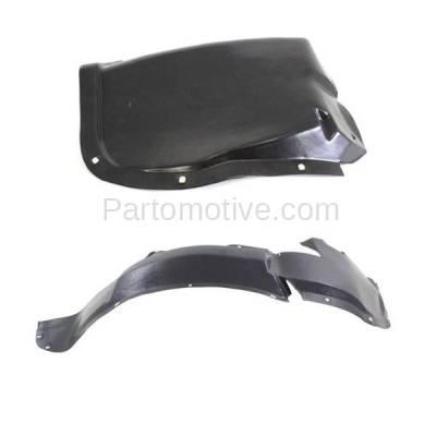 Aftermarket Replacement - IFD-1177L & IFD-1177R 96-00 Sebring Front Splash Shield Inner Fender Liner Panel Left & Right SET PAIR