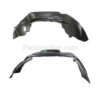 Aftermarket Replacement - IFD-1182L & IFD-1182R 07-10 Patriot Front Splash Shield Inner Fender Liner Panel Left & Right SET PAIR