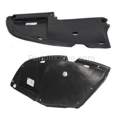 Aftermarket Replacement - ESS-1504L & ESS-1504R 04-12 Galant Front Engine Splash Shield Under Cover Left & Right Side PAIR SET