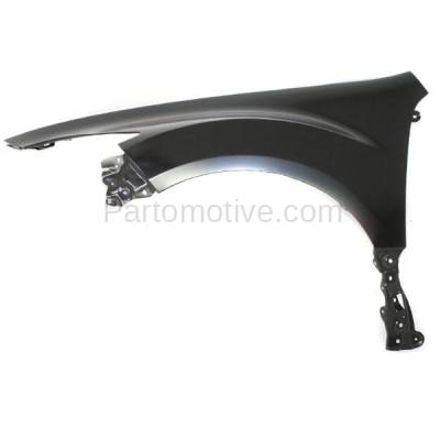 Aftermarket Replacement - FDR-1488L 09-13 Mazda6 Front Fender Quarter Panel Driver Side USA-Blt MA1240160 GS3L52210A