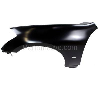Aftermarket Replacement - FDR-1451L Front Fender Quarter Panel Driver Side LH For 06-07 M-35/45 IN1240113 F3101EH1MA