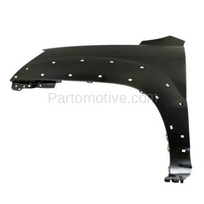 Aftermarket Replacement - FDR-1717L Front Fender Quarter Panel Driver Side For 05-10 Sportage EX w/Luxury KI1240121