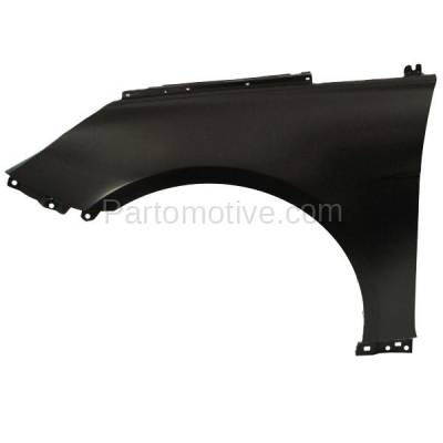 Aftermarket Replacement - FDR-1697L Front Fender Quarter Panel Left Driver Side Fits 11-15 Sonata Hybrid HY1240151