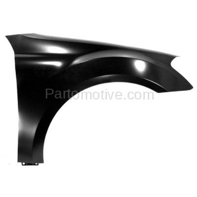 Aftermarket Replacement - FDR-1506R 06-11 ML-Class 164 Chassis Front Fender Quarter Panel Passenger Side MB1241130