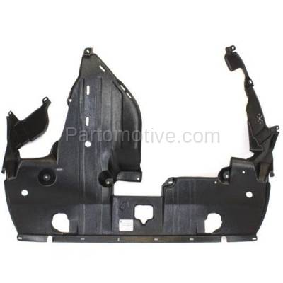 Aftermarket Replacement - ESS-1000 11-12 RL Engine Splash Shield Under Cover Black Plastic AC1228114 74111SJAA03