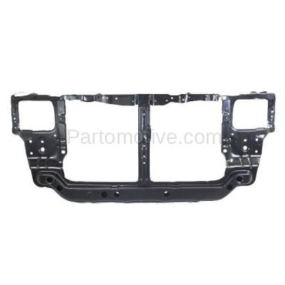 Aftermarket Replacement - RSP-1383 2000-2002 Hyundai Accent (GL, GS, L) (1.5L & 1.6L) (with Automatic Transmission) Front Radiator Support Core Assembly Primed Steel