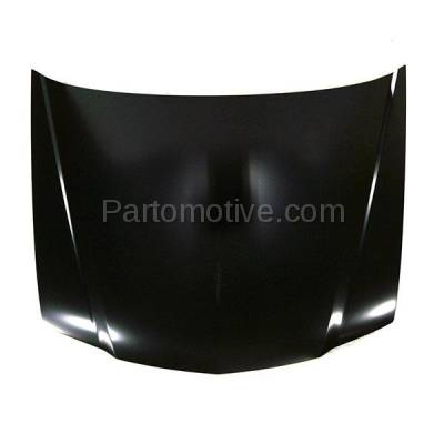 Aftermarket Replacement - HDD-1007 2006-2008 Acura TSX (Sedan 4-Door) 2.4L Front Hood Panel Assembly Primed Steel