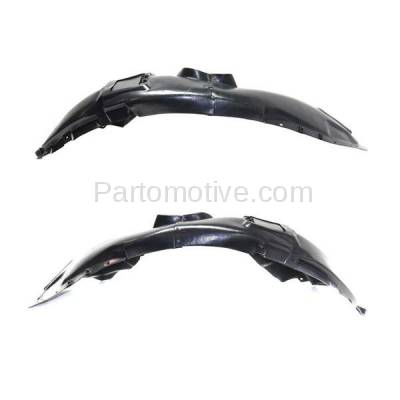 Aftermarket Replacement - IFD-1140L & IFD-1140R 15-17 200 Front Splash Shield Inner Fender Liner Panel Left Right Side SET PAIR
