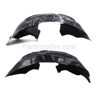 Aftermarket Replacement - IFD-1046L & IFD-1046R 07-14 Q7 Front Splash Shield Inner Fender Liner Panel Left & Right Side SET PAIR