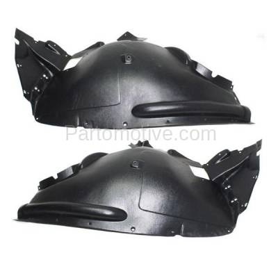 Aftermarket Replacement - IFD-1061L & IFD-1061R 11-13 X5 Front Splash Shield Inner Fender Liner Panel Left & Right Side SET PAIR