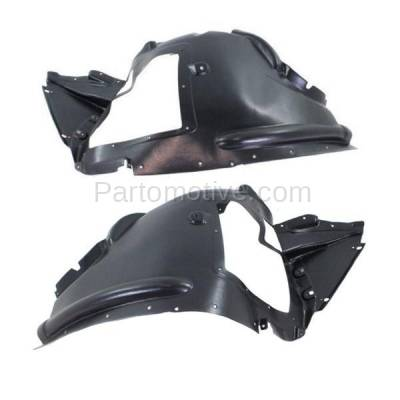 Aftermarket Replacement - IFD-1073L & IFD-1073R 07-13 X5, 10-11 X6 Front Splash Shield Inner Fender Liner Left & Right SET PAIR