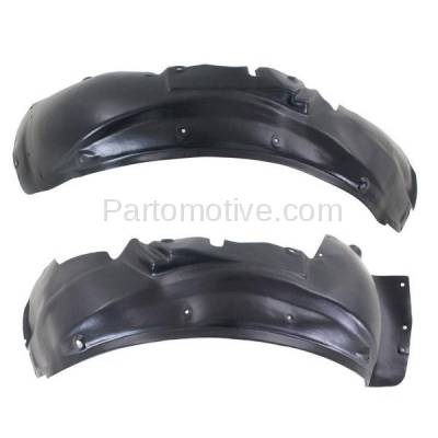 Aftermarket Replacement - IFD-1033L & IFD-1033R 01-05 Allroad Quattro Front Splash Shield Inner Fender Liner Left Right PAIR SET