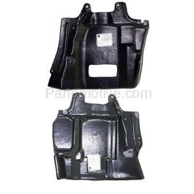 Aftermarket Replacement - ESS-1495L & ESS-1495R 03-06 Outlander Front Engine Splash Shield Under Cover Guard Left Right SET PAIR