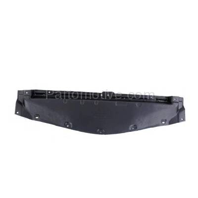 Aftermarket Replacement - ESS-1415C CAPA For 10-13 Mazda3 Front Engine Splash Shield Under Cover Guard BBM456112E