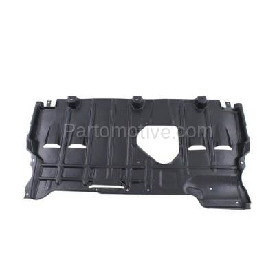 Aftermarket Replacement - ESS-1414C CAPA For 10-13 Mazda3 Rear Engine Splash Shield Under Cover Undercar BBM456110C