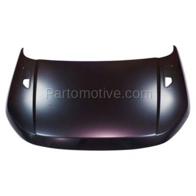 Aftermarket Replacement - HDD-1608 2012-2017 Land Rover Range Rover Evoque (Autobiography, Dynamic, HSE, Pure, SE) 2.0L Front Hood Panel Assembly Primed Aluminum