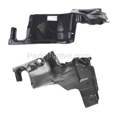 Aftermarket Replacement - ESS-1430L & ESS-1430R 93-02 626 Engine Splash Shield Under Cover Undercar Guard Left & Right SET PAIR