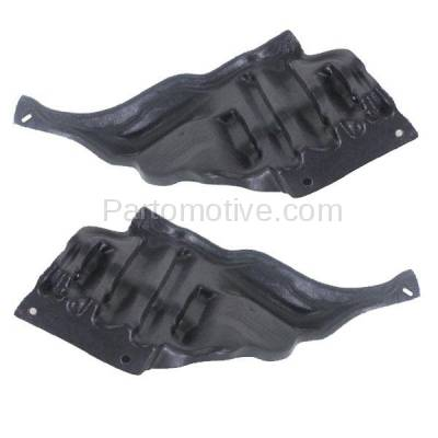 Aftermarket Replacement - ESS-1384L & ESS-1384R 95-00 LS400 Rear Engine Splash Shield Under Cover Guard Left Right Side SET PAIR