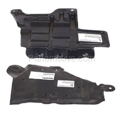 Aftermarket Replacement - ESS-1342L & ESS-1342R Engine Splash Shield Under Cover Undercar Fits 06-10 M35/M45 Left Right SET PAIR