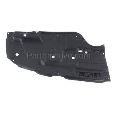Aftermarket Replacement - ESS-1611LC CAPA For 11-12 Avalon Front Engine Splash Shield Under Cover Guard Driver Side