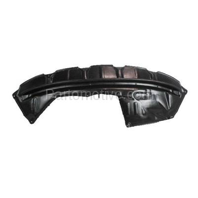 Aftermarket Replacement - ESS-1630C CAPA For 07-10 Sienna Front Engine Splash Shield Under Cover Guard 5144108020