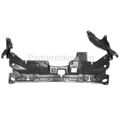 Aftermarket Replacement - ESS-1254C CAPA For 03-07 Accord Front Engine Splash Shield Under Cover Guard 74111SDAA00