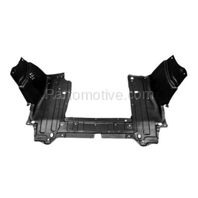 Aftermarket Replacement - ESS-1240C CAPA For 13-14 FIT EV Front Engine Splash Shield Under Cover Guard 74111TX9A00