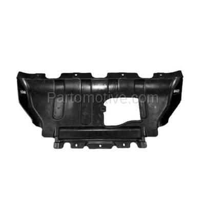 Aftermarket Replacement - ESS-1088C 2011-2018 Dodge Durango & Jeep Grand Cherokee (5.7 Liter V8) Front Engine Under Cover Splash Shield Undercar Guard Air Deflector Plastic
