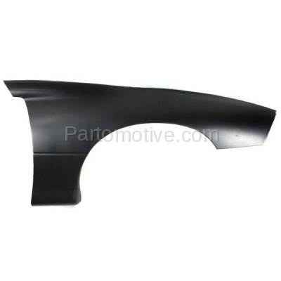 Aftermarket Replacement - FDR-1122R 1993-1997 Chevrolet Camaro (Coupe & Convertible) Front Fender Quarter Panel (without Molding Holes) Primed Plastic Right Passenger Side