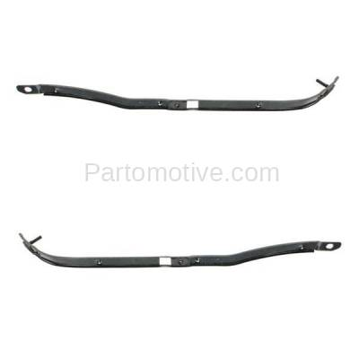Aftermarket Replacement - BRT-1226RL & BRT-1226RR 07-11 Chevy Aveo Rear Bumper Cover Retainer Mounting Brace Reinforcement Support Bracket Steel PAIR SET Right Passenger & Left Driver Side