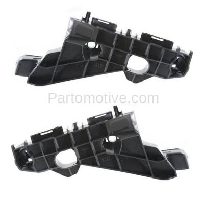 Aftermarket Replacement - BRT-1087FL & BRT-1087FR 2014-2016 Lexus IS200t, IS250, IS300, IS350 Front Bumper Cover Retainer Mounting Brace Reinforcement Support Bracket Right & Left Side