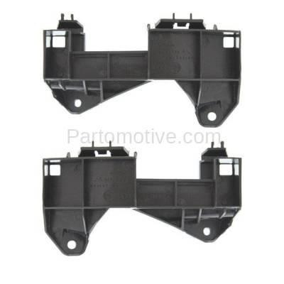 Aftermarket Replacement - BRT-1088FL & BRT-1088FR 13-15 GS350 & GS450h Front Bumper Cover Retainer Mounting Brace Reinforcement Support Bracket SET PAIR Right Passenger & Left Driver Side