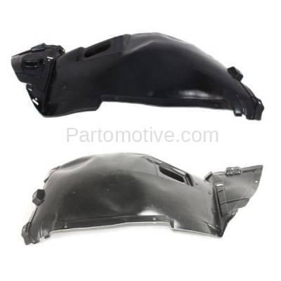 Aftermarket Replacement - IFD-1090L & IFD-1090R 07-13 3-Series Convertible & Coupe Front Splash Shield Inner Fender Liner Panel PAIR SET Left Driver & Right Passenger Side