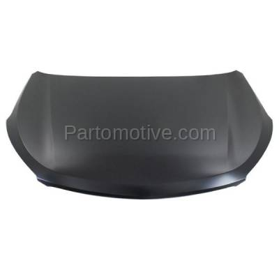 Aftermarket Replacement - HDD-1414 2013 Hyundai Santa Fe & Santa Fe XL (GLS, Limited) 2.0L & 3.3L (with Production Date Up To 7/01/13) Front Hood Panel Assembly Primed Steel