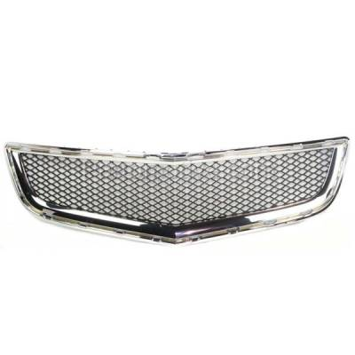 Aftermarket Replacement - GRL-1525C CAPA 09-12 Chevy Traverse Front Lower Bumper Grill Grille GM1036120 20756061