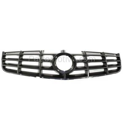 Aftermarket Replacement - GRL-1755C CAPA 06-11 DTS Front Grill Grille Adaptive Cruise Control GM1200617 19152602