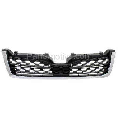 Aftermarket Replacement - GRL-2345C CAPA 14-15 Forester 2.5L 2.5i Front Lower Grill Grille SU1200154 91121SG040