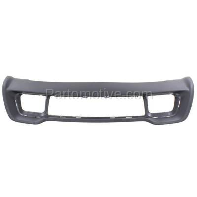 Aftermarket Replacement - GRL-1226C CAPA 14-15 Grand Cherokee Front Bumper Face Bar Frame Grill Grille CH1037108
