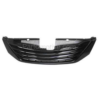 Aftermarket Replacement - GRL-2543C CAPA 11-15 Sienna Front Grill Grille w/o Cruise Control TO1200332 5310108070