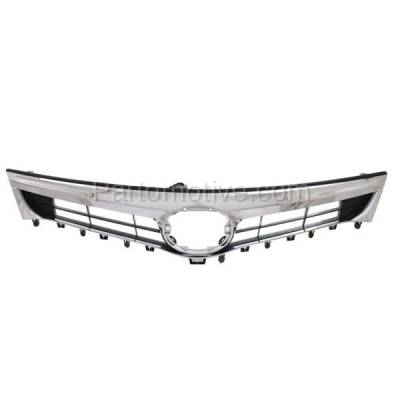 Aftermarket Replacement - GRL-2566C CAPA 13-15 Avalon Front Grill Grille w/o Pre-Collision TO1200357 5310107010