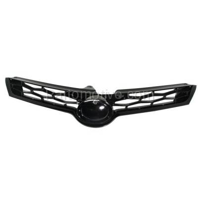 Aftermarket Replacement - GRL-2569C CAPA NEW 14-15 Corolla S Sedan Front Grill Grille Gray TO1200365 5310002570