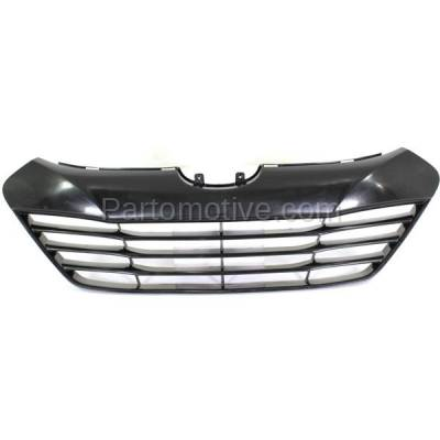Aftermarket Replacement - GRL-1912C CAPA Front Face Bar Grill Grille Shell HY1200156 865612S000 For 10-15 Tucson