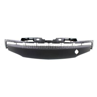 Aftermarket Replacement - GRL-2071C CAPA 12-13 Mazda3 Front Lower Bumper Grill Grille Gray MA1036117 BGV4501T2A