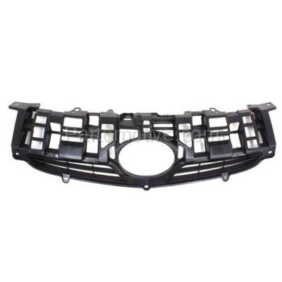 Aftermarket Replacement - GRL-2530C CAPA NEW 10-11 Prius Front Face Bar Grill Grille Black TO1200318 5311147020