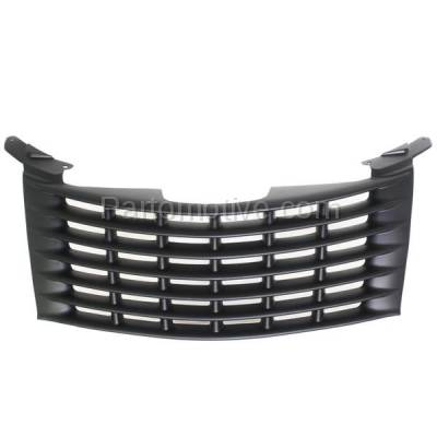 Aftermarket Replacement - GRL-1273C CAPA 01-05 PT Cruiser Front Grill Grille Primered Black CH1200241 5080979AA